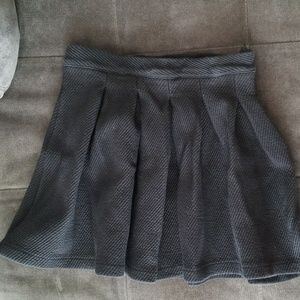 Zara pleated skater skirt